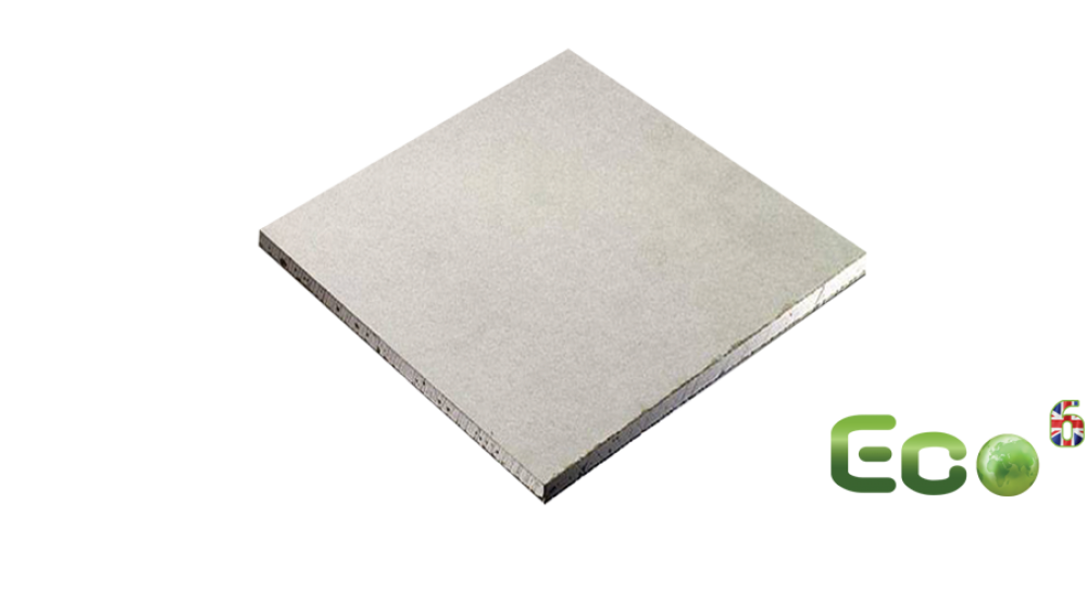 Eco⁶ – Eco-friendly, fire-resistant gypsum panel