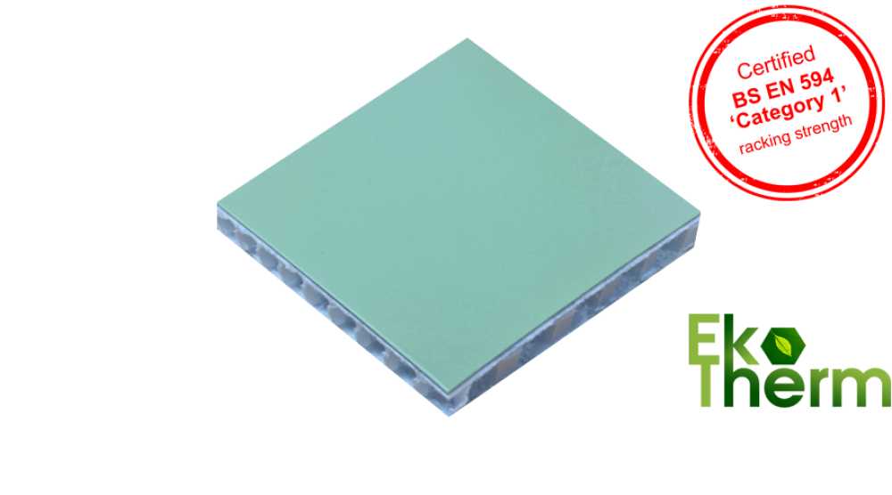 EkoTherm – Eco-friendly, rot-proof external panel